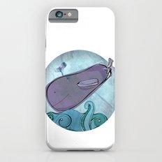 Eggplant Whale iPhone 6 Slim Case