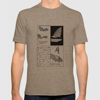 Bats In Your Hair Mens Fitted Tee Tri-Coffee SMALL
