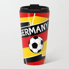 German Flag Football Travel Mug