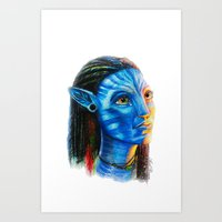 Avatar Art Print
