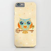 iPhone & iPod Case featuring Owl's Summer Love Letters by Sandra Vargas