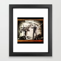 Whipping Corpses 1 Framed Art Print