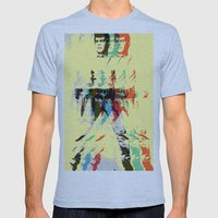 FPJ mello yellow Mens Fitted Tee Athletic Blue SMALL