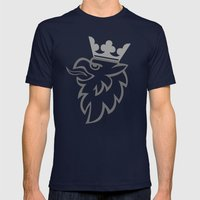 Griffin Mens Fitted Tee Navy SMALL