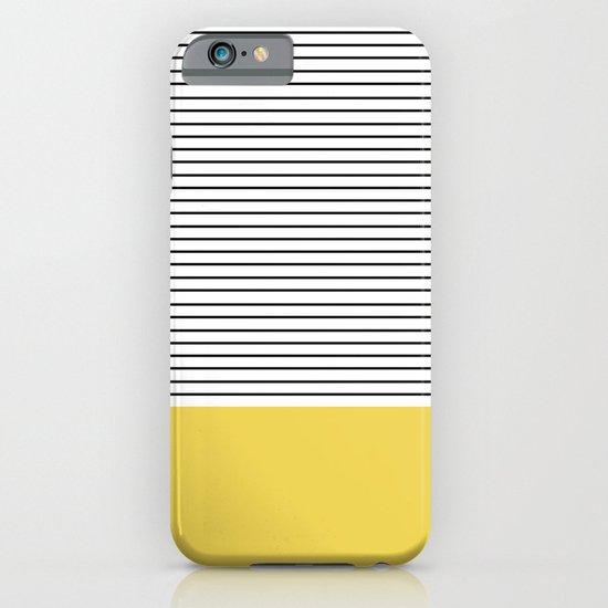 MINIMAL Green Stripes iPhone & iPod Case