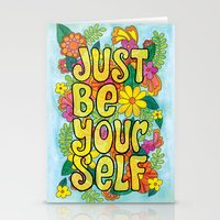Just Be Yourself Stationery Cards