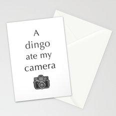 A Dingo Ate My Camera Stationery Cards