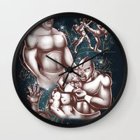 Arroz Con Pollo In: Deat… Wall Clock