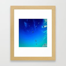 Suspended Traction. Framed Art Print