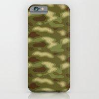 Camo pattern iPhone 6 Slim Case