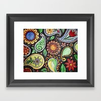 Paisley Fun  Framed Art Print