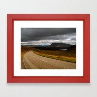 The Road to Poolewe Framed Art Print