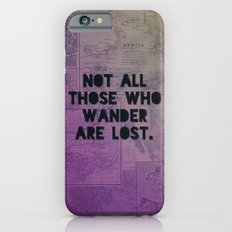 Wander Map iPhone 6s Slim Case