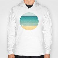 Beach,Sea & Sky - Abstra… Hoody