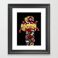 How Much Time Do We Have… Framed Art Print