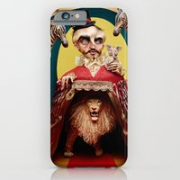 iPhone & iPod Case featuring Uncle Edgar and the Hybrid Circus by KShaimanova