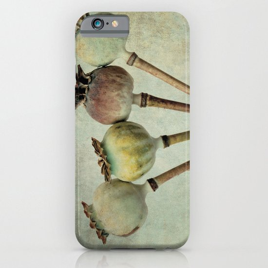 Poppy pods iPhone & iPod Case