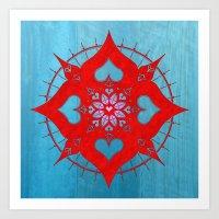 Lianai Redstone Art Print