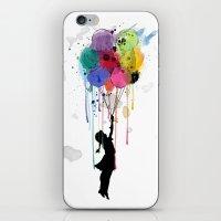 Wild Drips  iPhone & iPod Skin
