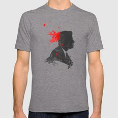 The Assassination of John F. Kennedy Mens Fitted Tee Tri-Grey SMALL