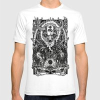 Witching Mens Fitted Tee White SMALL
