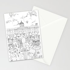 Pigeons Perspective Stationery Cards