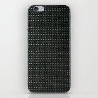 metal pattern iPhone & iPod Skin