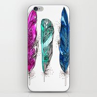 dream feathers 2 iPhone & iPod Skin