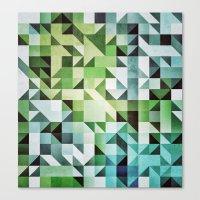 :: geometric maze II :: Canvas Print
