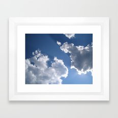 Bright Air Framed Art Print