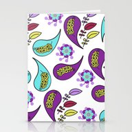 Paisley #23 Stationery Cards