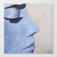 Eyelashes Canvas Print