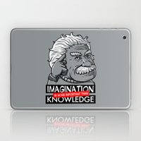 Imagination Is More Impo… Laptop & iPad Skin