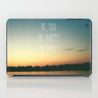 Be Happy iPad Case