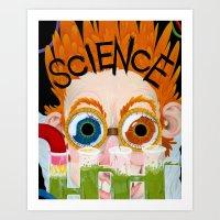 SCIENCE!  Art Print