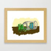 When Good Pickles Go Bad Framed Art Print