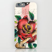 iPhone & iPod Case featuring The Eye, The Rose, The Bone by Paul Ulrich