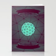 Stationery Cards featuring Orb [Style Frame] by Timothy J. Reynolds