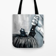 Carve It To Death Tote Bag