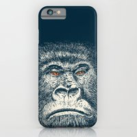 iPhone & iPod Case featuring Gorilla by Lara Trimming