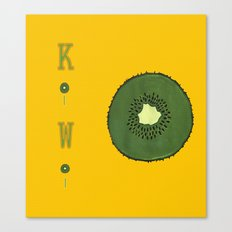 Kitchen Kiwi Canvas Print