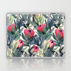 Painted Protea Pattern Laptop & iPad Skin