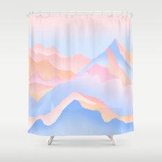 Mount Shower Curtain