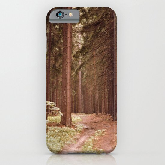 A Path in the Woods iPhone & iPod Case