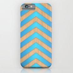 Turquoise Chevron iPhone 6 Slim Case