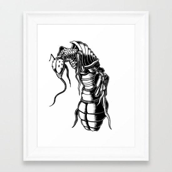 Aardvark Ant Framed Art Print