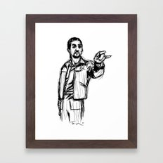 The Jesus Framed Art Print