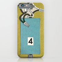iPhone & iPod Case featuring 4. by Mikey Maruszak