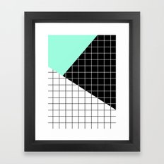 Minimal Geometry II Framed Art Print