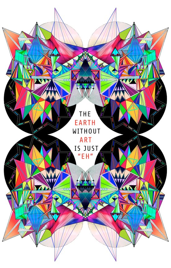 The Earth Without Art Art Print